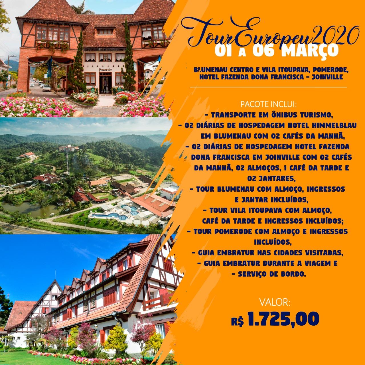 Tour Europeu 2020